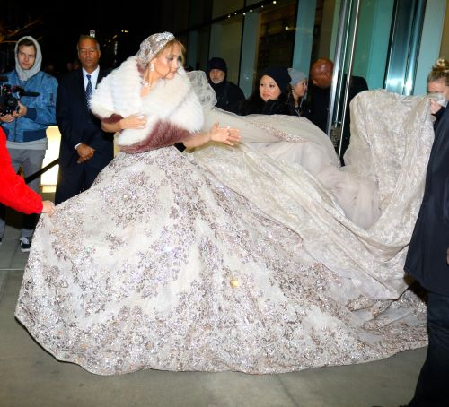 Jennifer Lopez Was Spotted Wearing A Gorgeous Wedding Gown