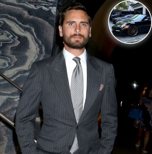 Scott Disick Shows Off His Impressive Fleet of Black Luxury Cars: 'What Else?'