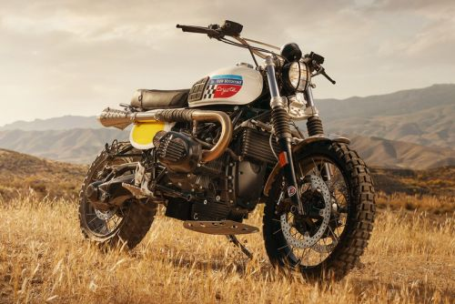 "Fuel Motorcycles' BMW Motorrad ""Coyote"" Custom Debuted at Waves Festival"