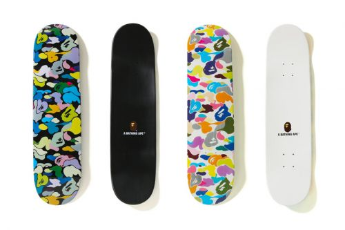 BAPE's Multi Color Skate Deck Is a Must Have for Streetwear Lovers