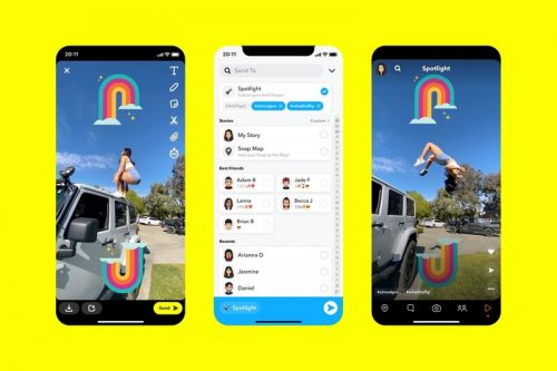 Snapchat Launches Spotlight Feature and Awards $1 Million USD a Day to Most Entertaining Posts