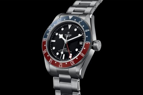 "Tudor Delivers an Old-School Sports Watch for the Black Bay GMT ""Pepsi"""