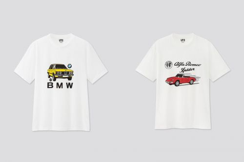 UNIQLO UT Embraces Vintage Cars in Graphic T-Shirt Collection
