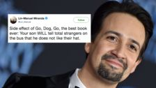 35 Funny And Delightful Parenting Tweets From Lin-Manuel Miranda
