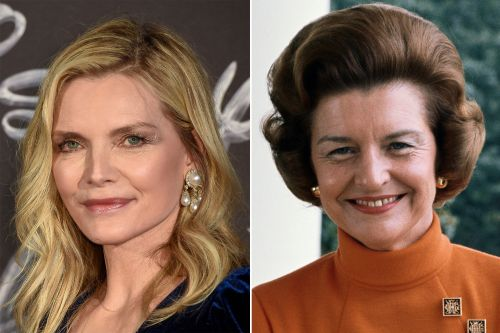 Michelle Pfeiffer cast as Betty Ford in Showtime series 'First Lady'