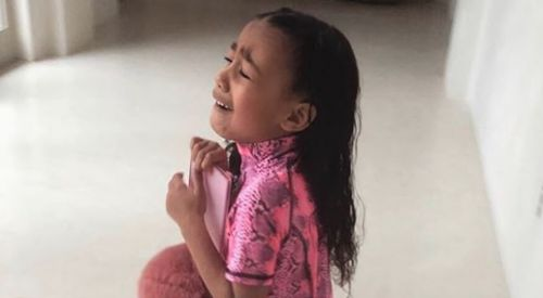 Kim Kardashian Wouldn't Let North Wear Her Thigh-High Snakeskin Boots and She Was NOT Happy About It
