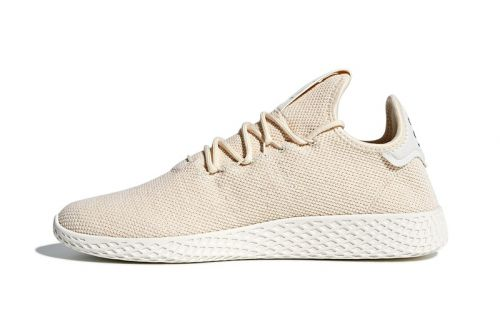 Pharrell Drops a 'Light Tan' adidas Tennis Hu Colorway