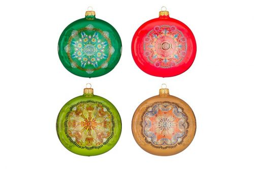 Dior Drops $600 USD Luminarie Christmas Ornaments