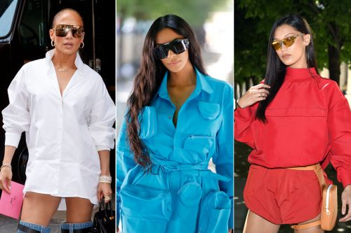 Tiny sunglasses are over - here's the next trend