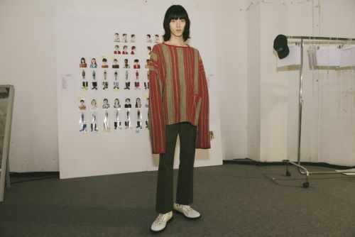 Take a Backstage Look at Acne Studios Fall/Winter 2018 Presentation