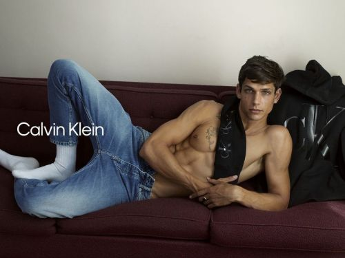 Ethan Returns to Spotlight with Calvin Klein MyCalvins Campaign