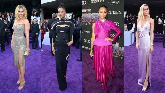 See What All Your Favorite Superheroes Wore to the 'Avengers: Endgame' Premiere
