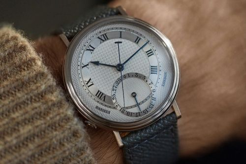 A Rare George Daniels Millennium Watch Lands on A COLLECTED MAN