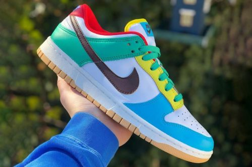 """Nike's Boisterous Dunk Low """"Free.99"""" Is Gratis in Name Only"""