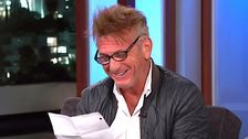 Sean Penn Reads Mean Tweets On 'Jimmy Kimmel' And Actually Enjoys It