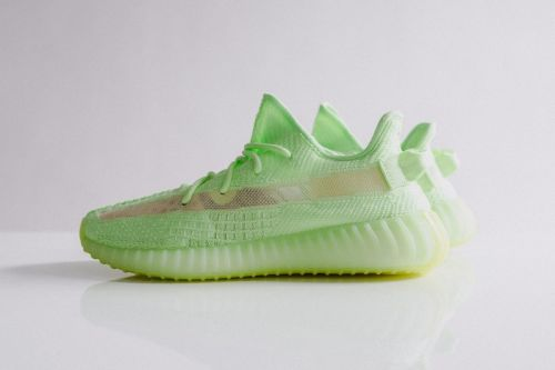 """Don't Miss Out on the adidas YEEZY BOOST 350 V2 """"Glow-In-The-Dark"""