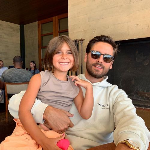 Scott Disick's Instagram Is Basically Turning Into a Fan Account for His Kids