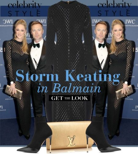 Celebrity Style: Storm Keating in Balmain