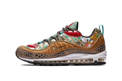 """A Closer Look at Nike's Opulent Air Max 98 """"Year of the Pig"""""""