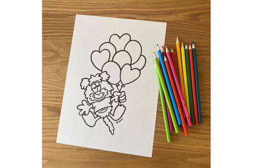 Verdy Introduces New Character With Coloring Page Release
