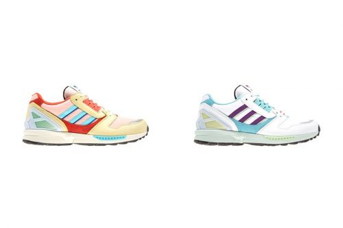 """Adidas Readies For Easter With ZX 8000 """"Vapour Pink"""" & """"White/Turquoise"""""""