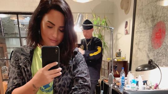 Demi Lovato Just Got the 'Most Meaningful Tattoo' of Her Life and It's So Sweet