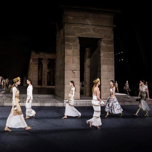 Five Takeaways from Chanel's Ancient Egypt-Themed Show in New York