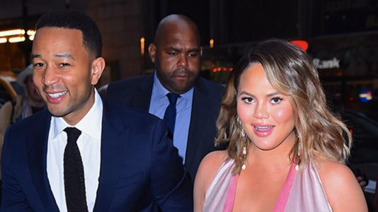 John Legend and Chrissy Teigen's Daughter Luna Is Doing OK With the Whole Big Sister Thing