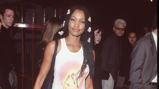 Great Outfits in Fashion History: Garcelle Beauvais Giving '90s Flower Child