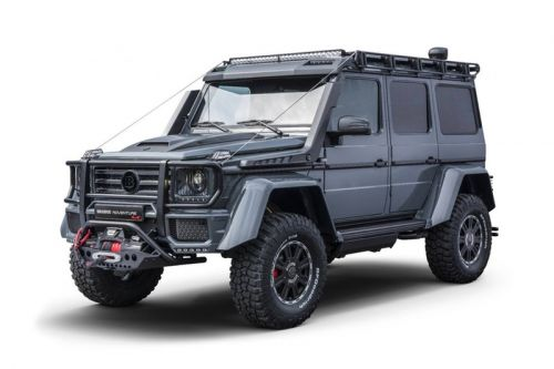 The BRABUS Adventure 4x4² Is an Off-Road Monster