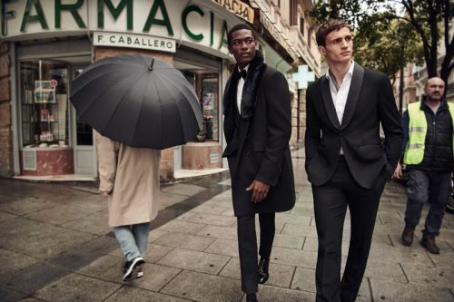 Party Season is Here: Julian Schneyder & Hamid Onifade for Mango Holiday '18 Campaign