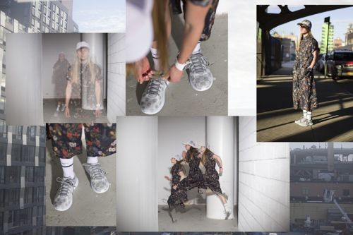 Engineered Garments and HOKA ONE ONE's Collab Is Highlighted in Nepenthes' Editorial