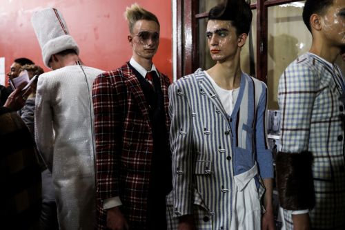 Thom Browne Experiments With Bubble Wrap and Defies Gender Norms for FW19