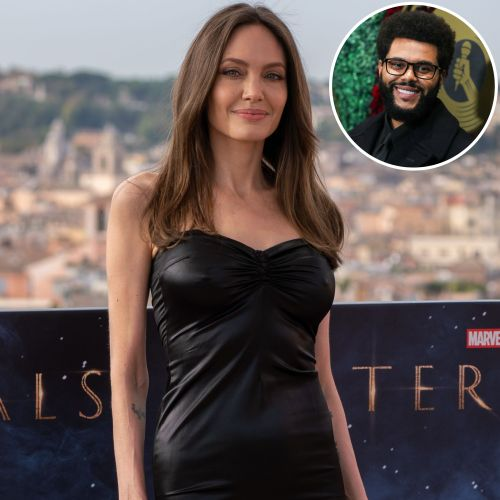 Angelina Jolie Dodges a Question About Her Rumored Romance With The Weeknd