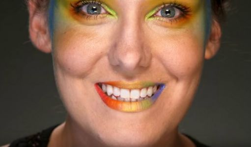 Celebrate Pride Parades In Style With This Rainbow Lip Look