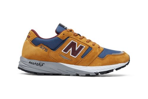 """New Balance Releases Fall-Ready UK-Made 575 in """"Golden Blaze"""" and Burgundy"""