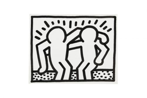 Keith Haring's Iconic 'Pop Shop Drawings' Hit Sotheby's Latest Online Auction