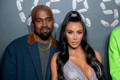 Kim Kardashian And Kanye West Served All. The. Looks. At Versace's Fall 2019 Fashion Show