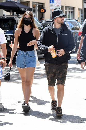 Popping the Question? Scott Disick and Girlfriend Amelia Gray Hamlin Go Jewelry Shopping in Miami