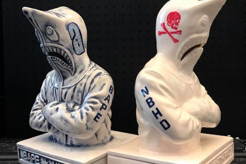 NEIGHBORHOOD Taps BAPE's Shark Hoodie for Its latest Incense Chamber