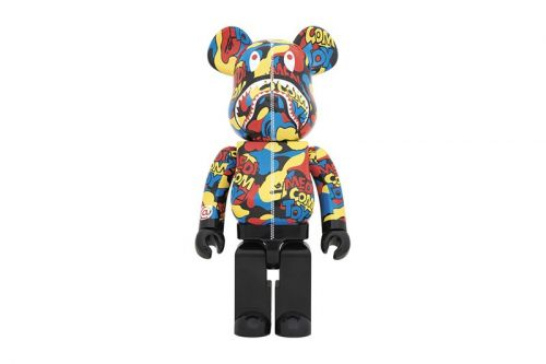 Medicom Toy Unveils Its Latest BE RBRICK in a Bold Camo Shark Iteration