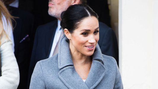 Meghan Markle Looks Gorgeous In Super Festive Outfit