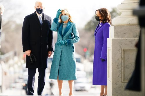 Jill Biden's glittery inauguration outfit was a nod to 'stability'