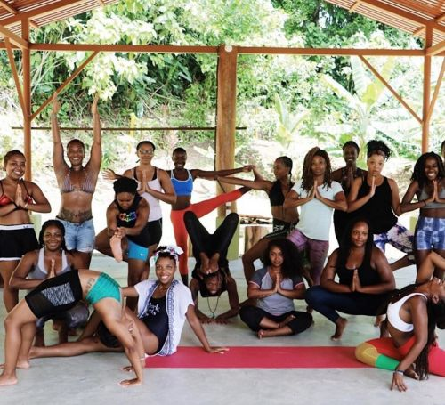 There's a retreat in Costa Rica that's just for women of colour