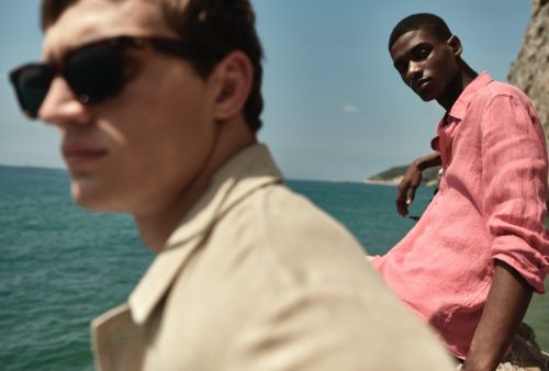High Summer: Rachide & Julian Don New Massimo Dutti Menswear
