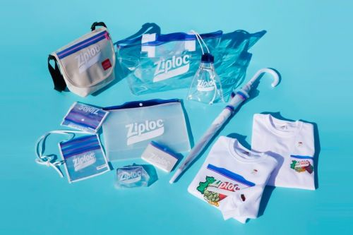 BEAMS Couture Transforms Ziploc Pouches Into Transparent Bags and Accessories