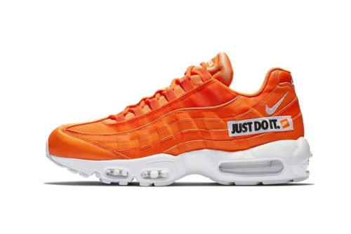 "Nike Air Max 95 ""Just Do It"" Gets An Orange Paint Job"