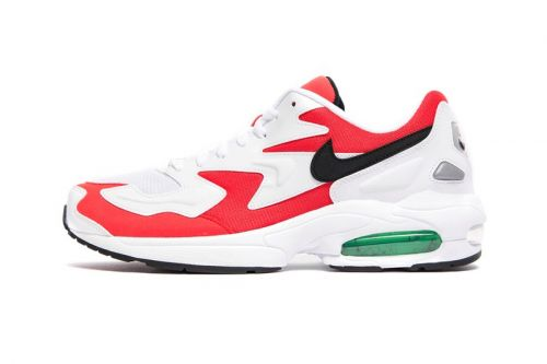"The Nike Air Max 2 Light Receives a Spicy ""Habanero Red"" Revamp"