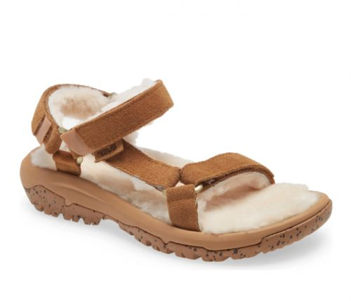 We Found the Shearling Sandal That Everyone Will Be Wearing This Fall & It's on Sale Now