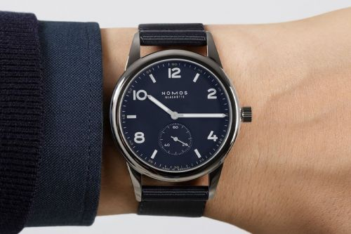 NOMOS Celebrates 175 Years of Glashütte Watchmaking With New Club Automatic Series